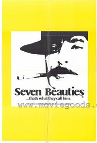 Seven Beauties - 43 x 62 Movie Poster - Bus Shelter Style A