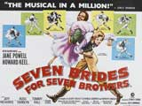 Seven Brides for Seven Brothers - 30 x 40 Movie Poster UK - Style A