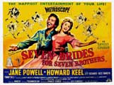Seven Brides for Seven Brothers - 11 x 17 Movie Poster - UK Style A