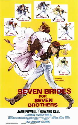 Seven Brides for Seven Brothers - 11 x 17 Movie Poster - Style A
