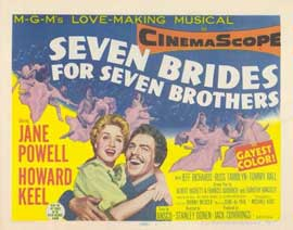 Seven Brides for Seven Brothers - 11 x 14 Movie Poster - Style A