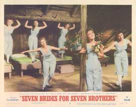 Seven Brides for Seven Brothers - 11 x 14 Movie Poster - Style B