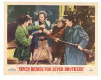 Seven Brides for Seven Brothers - 11 x 14 Movie Poster - Style D