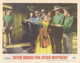 Seven Brides for Seven Brothers - 11 x 14 Movie Poster - Style E