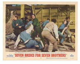 Seven Brides for Seven Brothers - 11 x 14 Movie Poster - Style F