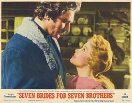 Seven Brides for Seven Brothers - 11 x 14 Movie Poster - Style H