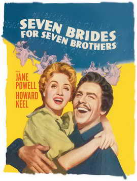 Seven Brides for Seven Brothers - 11 x 17 Movie Poster - Style C