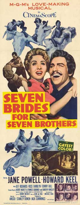 Seven Brides for Seven Brothers - 14 x 36 Movie Poster - Insert Style A