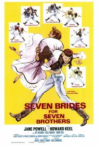 Seven Brides for Seven Brothers - 43 x 62 Movie Poster - Bus Shelter Style A