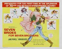 Seven Brides for Seven Brothers - 22 x 28 Movie Poster - Half Sheet Style A