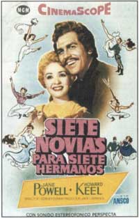 Seven Brides for Seven Brothers - 11 x 17 Movie Poster - Spanish Style C