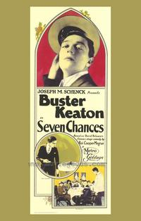 Seven Chances - 43 x 62 Movie Poster - Bus Shelter Style A