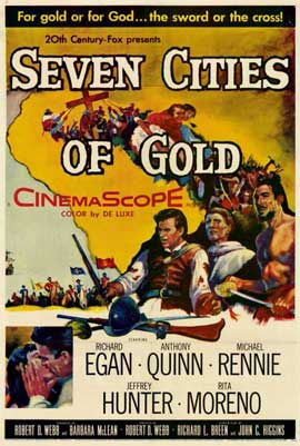 Seven Cities of Gold - 11 x 17 Movie Poster - Style A