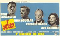 Seven Days in May - 11 x 17 Movie Poster - Belgian Style A