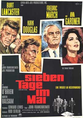 Seven Days in May - 27 x 40 Movie Poster - Foreign - Style A