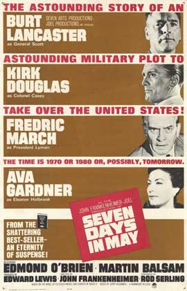 Seven Days in May - 11 x 17 Movie Poster - Style A