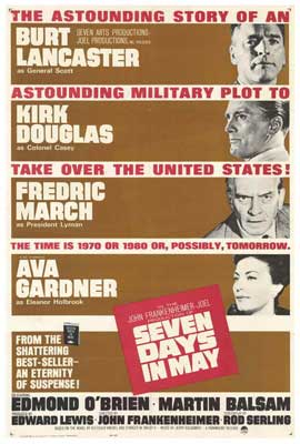 Seven Days in May - 27 x 40 Movie Poster - Style A