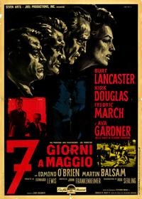 Seven Days in May - 11 x 17 Movie Poster - Italian Style A