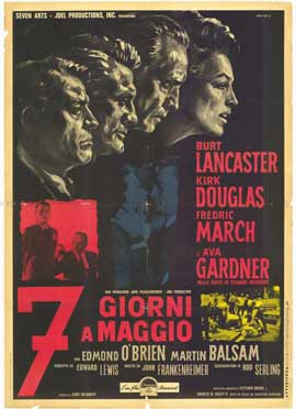 Seven Days in May - 27 x 40 Movie Poster - Italian Style A