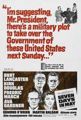 Seven Days in May - 27 x 40 Movie Poster - Style B