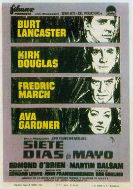 Seven Days in May - 11 x 17 Movie Poster - Spanish Style A