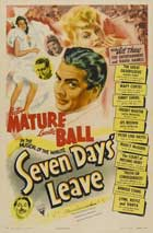 Seven Days' Leave - 11 x 17 Movie Poster - Style A