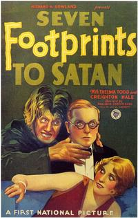 Seven Footprints to Satan - 11 x 17 Movie Poster - Style A