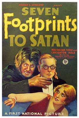 Seven Footprints to Satan - 27 x 40 Movie Poster - Style A