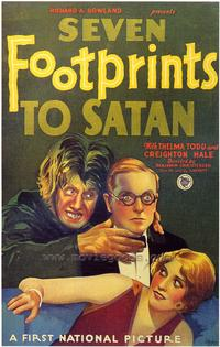 Seven Footprints to Satan - 43 x 62 Movie Poster - Bus Shelter Style A