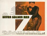 Seven Golden Men - 22 x 28 Movie Poster - Half Sheet Style A