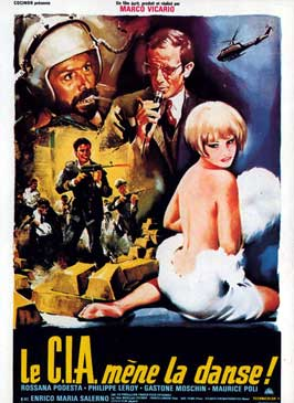 Seven Golden Men Strike Again - 11 x 17 Movie Poster - French Style A