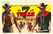 Seven Guns from Texas - 11 x 17 Movie Poster - Belgian Style A