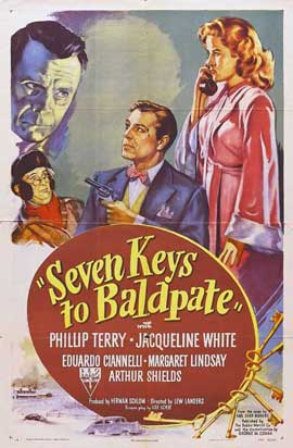 Seven Keys to Baldpate - 11 x 17 Movie Poster - Style A