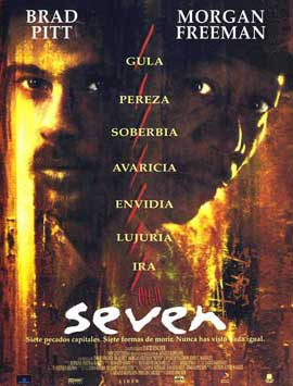 Seven - 11 x 17 Movie Poster - Spanish Style A
