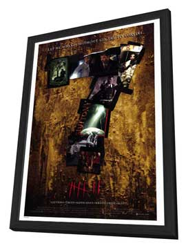 Seven - 27 x 40 Movie Poster - Style B - in Deluxe Wood Frame