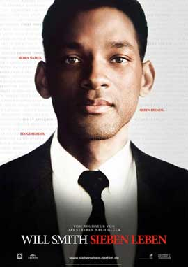 Seven Pounds - 11 x 17 Movie Poster - German Style A