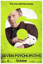 Seven Psychopaths - 27 x 40 Movie Poster - Style A
