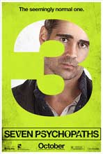 Seven Psychopaths - 27 x 40 Movie Poster - Style C
