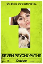Seven Psychopaths - 27 x 40 Movie Poster - Style D