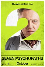 Seven Psychopaths - 27 x 40 Movie Poster - Style E