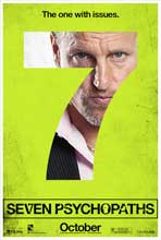 Seven Psychopaths - 27 x 40 Movie Poster - Style G