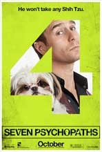 Seven Psychopaths - 11 x 17 Movie Poster - Style H