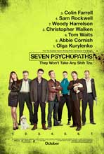 Seven Psychopaths - DS 1 Sheet Movie Poster - Style A