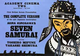 Seven Samurai - 11 x 14 Poster - Foreign - Style B