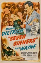 Seven Sinners - 11 x 17 Movie Poster - Style C