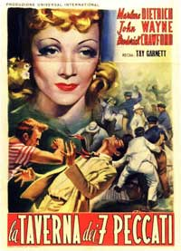 Seven Sinners - 11 x 17 Movie Poster - French Style A