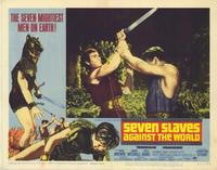 Seven Slaves Against the World - 11 x 14 Movie Poster - Style F