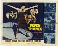 Seven Thieves - 11 x 17 Movie Poster - Style B