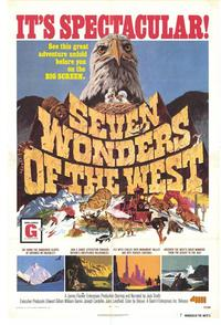 Seven Wonders of the West - 27 x 40 Movie Poster - Style A
