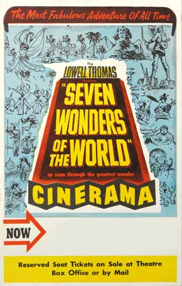 Seven Wonders of the West - 11 x 17 Movie Poster - Style B